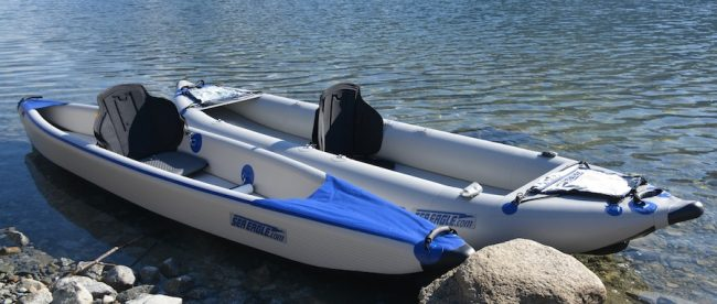 Sea Eagle SE 330/370 Inflatable Kayak Review - Extremepedia