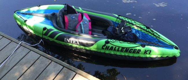 Intex Challenger K2 Inflatable Kayak Review