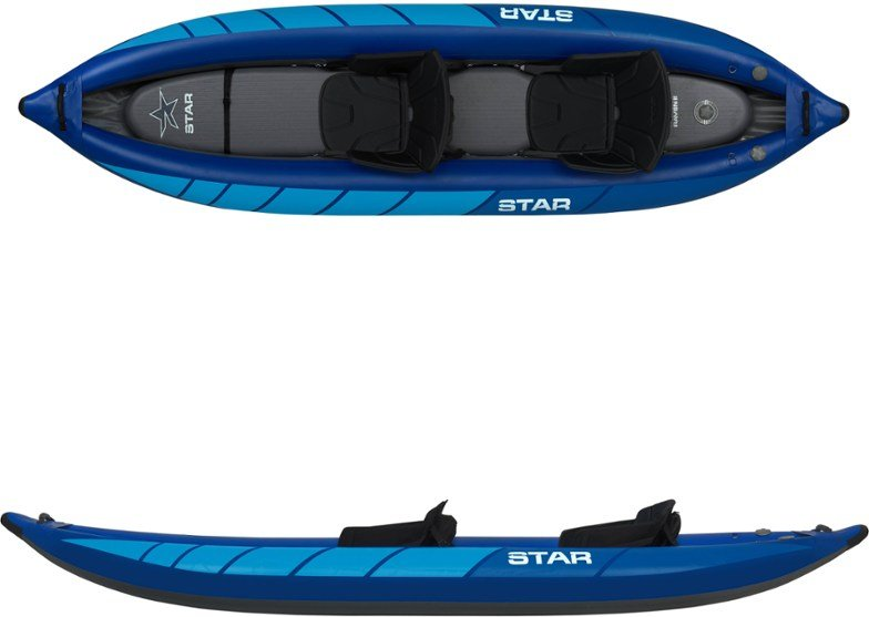 Image of star raven inflatable canoe