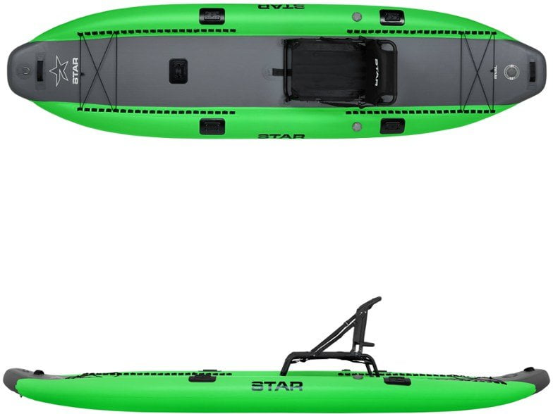 Star inflatable fishing kayak