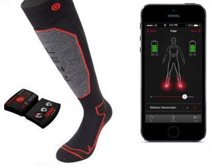 phone controlled sock