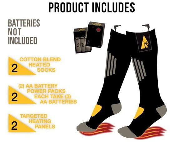 ActionHeats Heated Socks