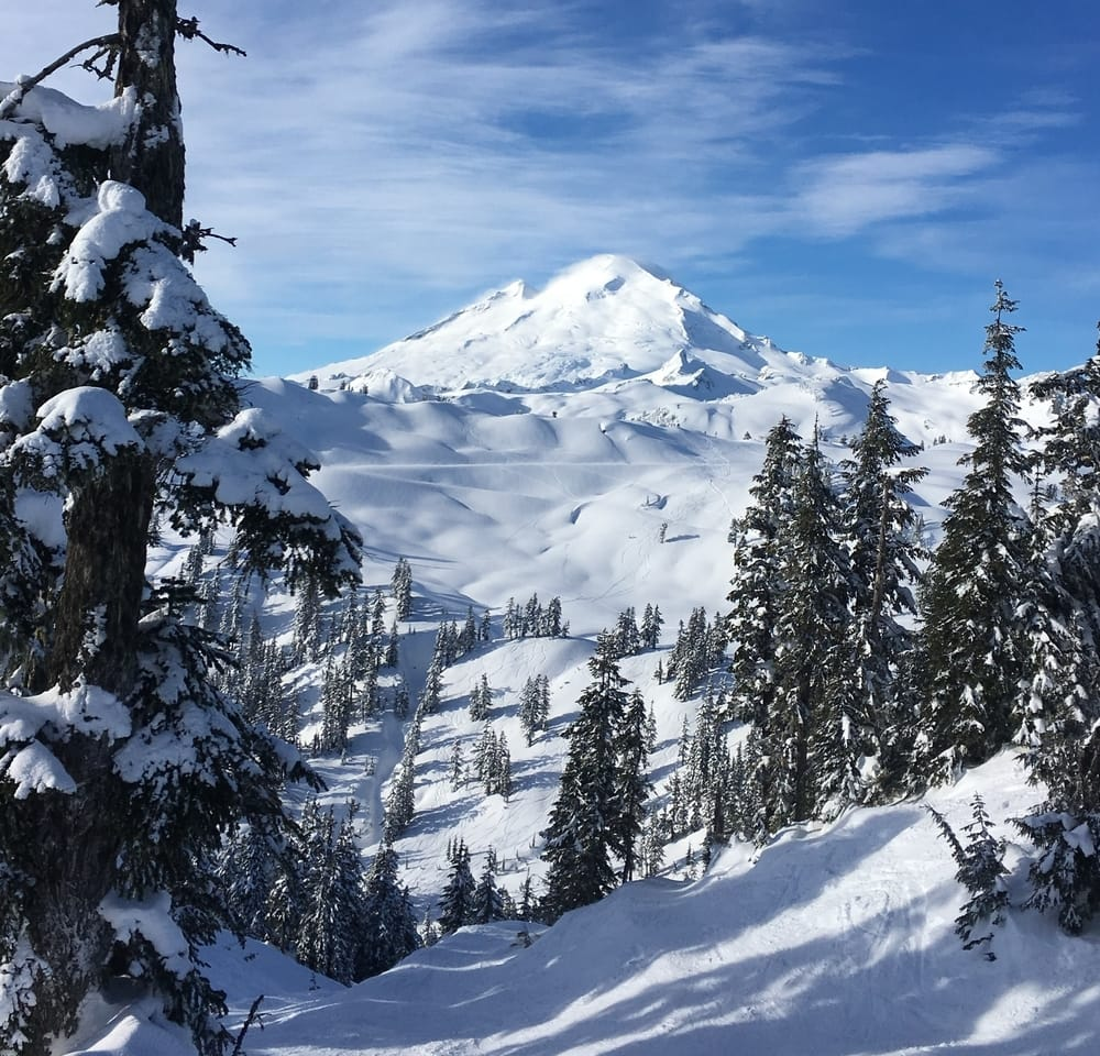 Mt. Baker Ski Area, the ski resort that gets the most snow in Washington State
