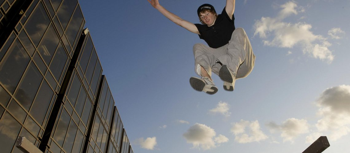 Parkour jumps
