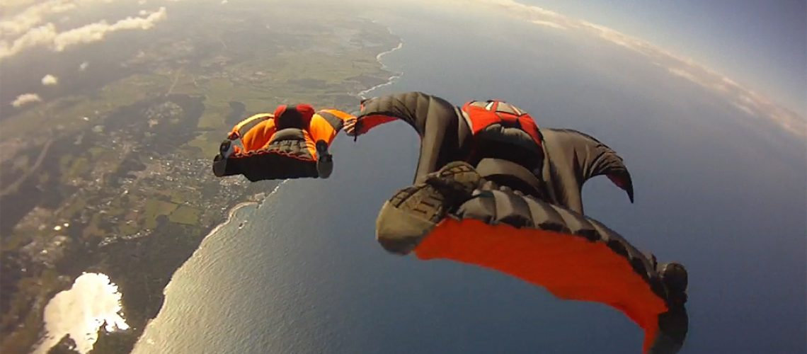 Wingsuit Base Jump